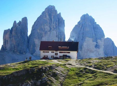 Rifugio Locatelli mt. 2405