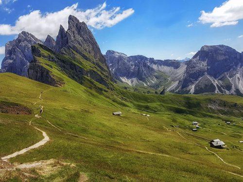 Giro delle Baite dell'Alpe Seceda