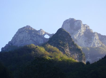 Monte Forato mt. 1209 per la ferrata Salvadori