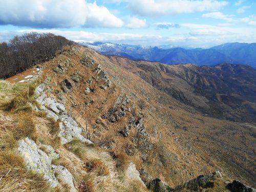 Monte Ramaceto mt. 1345
