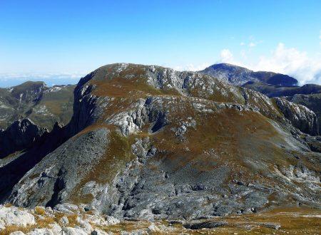 Cima Pian Ballaur, Cima delle Saline e Cima della Brignola mt. 2604-2612-2474