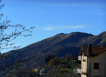 Monte Candelozzo mt. 1036 da Scoffera
