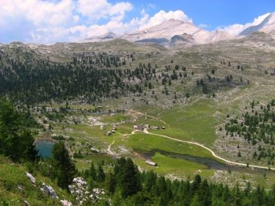 Alpe di Fanes Piccola e Lago di Limo mt. 2050-2166