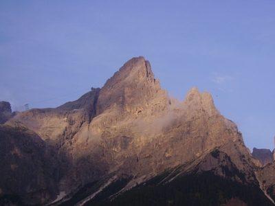 Cima Rosetta mt. 2743 e Rifugio Rosetta G. Pedrotti mt. 2581