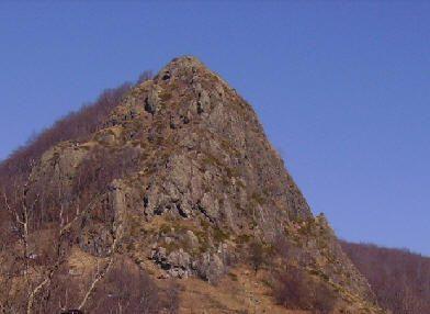 Monte Castello Fante (Ripa) ,Monte Gifarco e Monte Roccabruna mt. 1391-1381-1418