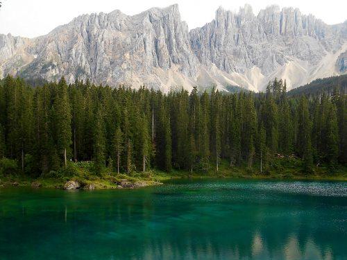 Lago di Carezza mt. 1534 e Stadl Alm mt. 1500