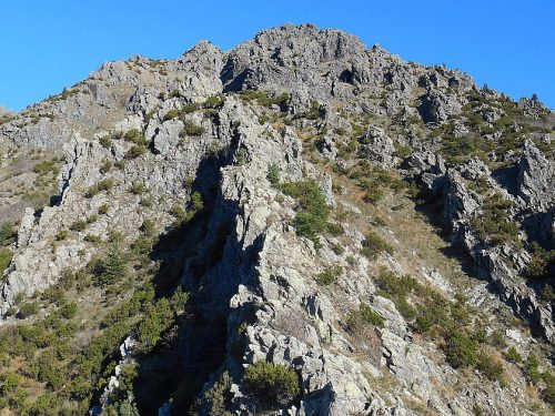 Punta Martin mt. 1001 anello con Cresta Federici e Dito Mondini