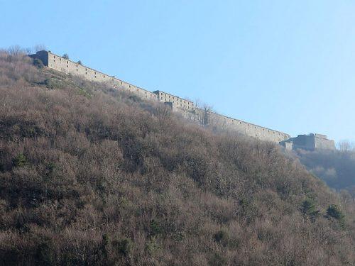 Forte Monteratti mt. 560 anello da Marassi