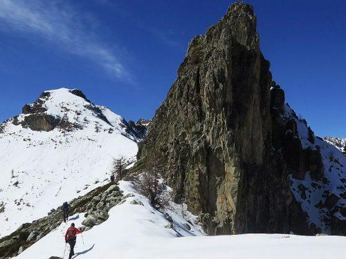 Monte Piutas, Soleglio Bue, Rocca delle Sommette mt. 2433-2413-2487 e Pis del Passet